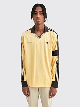 adidas Originals by Wales Bonner LS Soccer Jersey Orange Tint