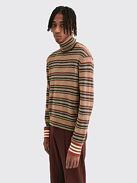 adidas Originals by Wales Bonner Tri Roll Neck Sweater Multi