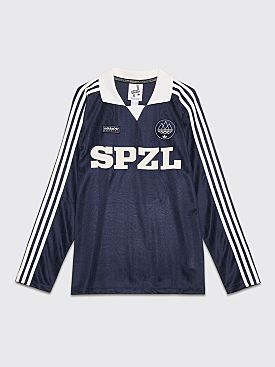 adidas Spezial Lymwood Jersey Top Core White / Night Navy