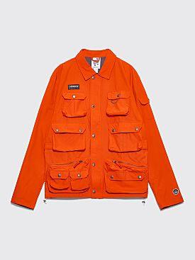 adidas Spezial Wardour Military Jacket Collegiate Orange