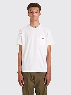 AFFIX Double Chest Pocket T-shirt White