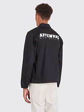 AFFIX Coach Jacket Black