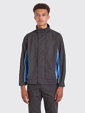 AFFIX Track Jacket Grey / Blue