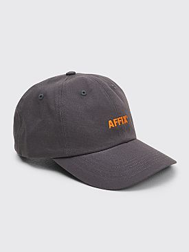 AFFIX Basic Logo Cap Grey / Orange