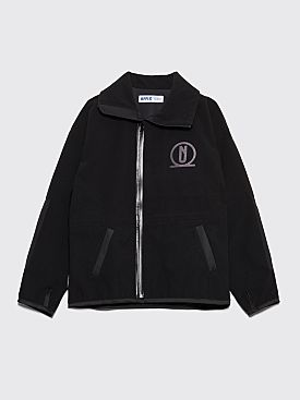 AFFIX Polar Fleece Top Jacket Black