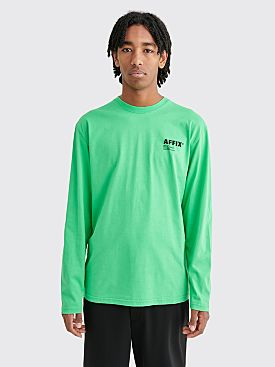 AFFIX Basic LS T-shirt Green