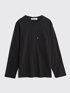AFFIX Radio LS T-shirt Black