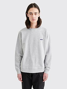 AFFIX Basic Embroidered Logo Sweatshirt Grey