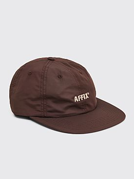 AFFIX 30 WT Logo Nylon Cap Brown