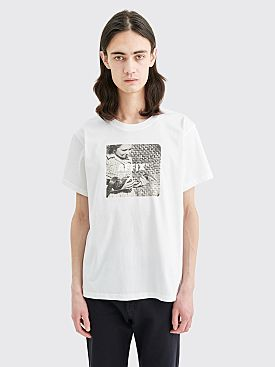 AFFIX Short Sleeve Radio T-shirt White