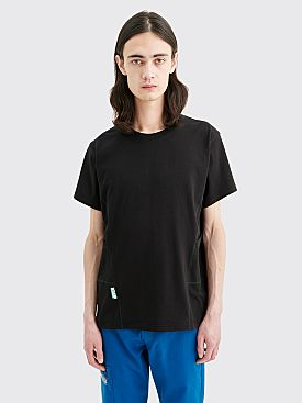 AFFIX Panelled Workwear T-shirt Black