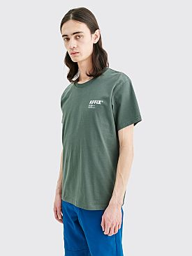 AFFIX Basic Short Sleeve T-shirt Dark Grey