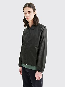 AFFIX Technical Nylon Coach Jacket Black
