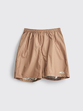 AFFIX Technical Nylon Shorts Beige