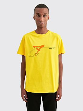 AFFIX S.E.S. Inc Tee Yellow