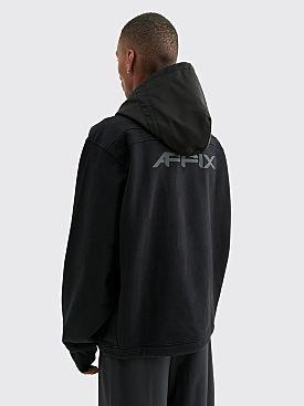 AFFIX Cordura Hood 400GSM Pullover Black