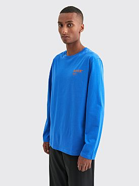 AFFIX Standardised Logo Long Sleeve T-shirt Cobalt