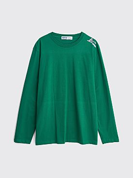 AFFIX Foley Sequence Long Sleeve T-shirt Green