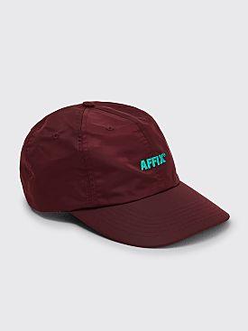 AFFIX Standard Logo Nylon Cap Deep Red