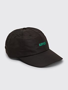 AFFIX Standard Logo Nylon Cap Black