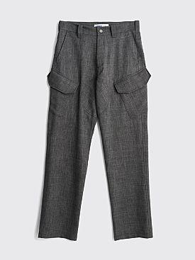 AFFIX Sharkskin Service Pant Grey