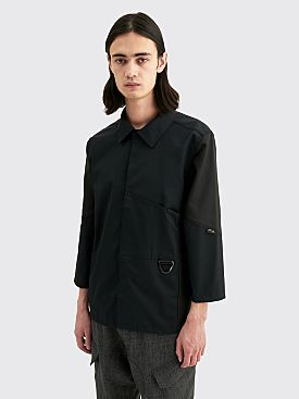 AFFIX Duo Tone Work Shirt Black