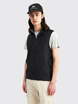 AFFIX Panel Vest Black