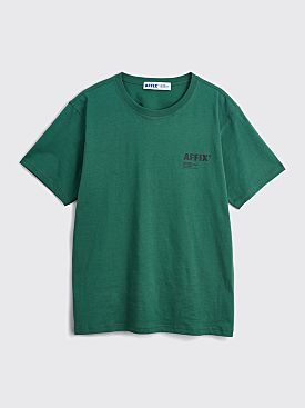 AFFIX Standardised Logo T-shirt Deep Green