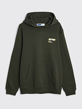 AFFXWRKS A.I. Standardised Logo Hooded Sweatshirt Rosin Green