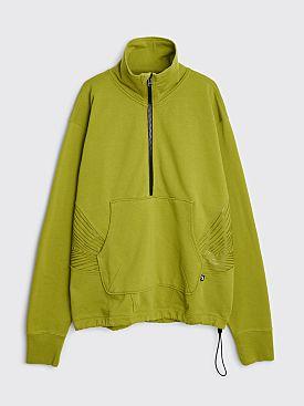 AFFXWRKS Audial Zip Sweatshirt Pulse Green