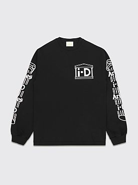 Aries x i-D Rat Longsleeve T-shirt Black