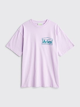 Aries Classic Temple T-shirt Pink