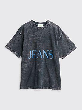 Aries Jeans Logo T-shirt Black