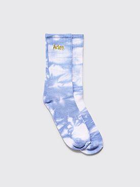 Aries Tie Dye Socks Lilac