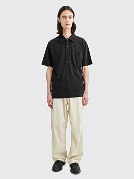 Auralee Wool Max Gabardine Fatigue Pants Ivory