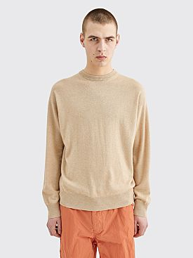 Auralee Baby Cashmere Knit Sweater Natural Beige