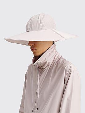 Auralee High Count Light Nylon Sun Hat Light Purple