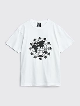 Available Nowhere World Peace Now T-shirt White