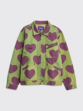 Awake NY Hearts Harrington Jacket Army