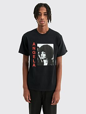 Awake NY Angela Davis T-shirt Black