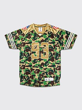 adidas by BAPE FB Jersey Green Camo