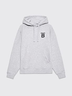 BEINGHUNTED. Halo B Hooded Sweatshirt Heather Grey