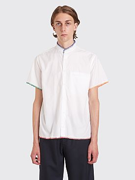 Bianca Chandôn Blanket Stitch Poplin Shirt White