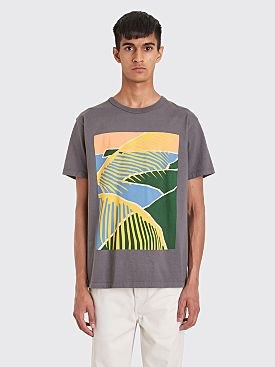 Bianca Chandôn Beach Scene T-shirt Charcoal