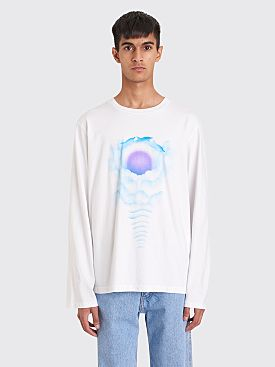 Bianca Chandôn Dolphin Longsleeve T-shirt White