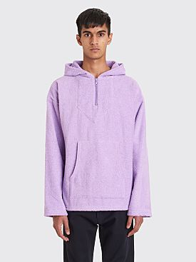 Bianca Chandôn Terry Cloth Poncho Lavender