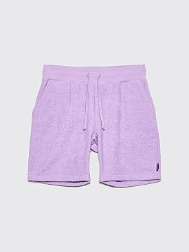 Bianca Chandôn Terry Cloth Shorts Lavender
