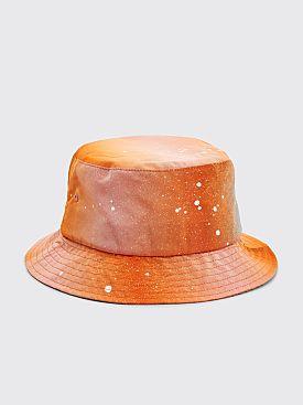 Bianca Chandôn Silk Taffeta Bucket Hat Apricot