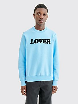 Bianca Chandôn Lover Crewneck Sweater Baby Blue