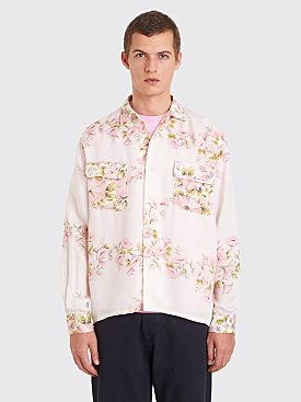 Bode Pink Floral Havana Shirt